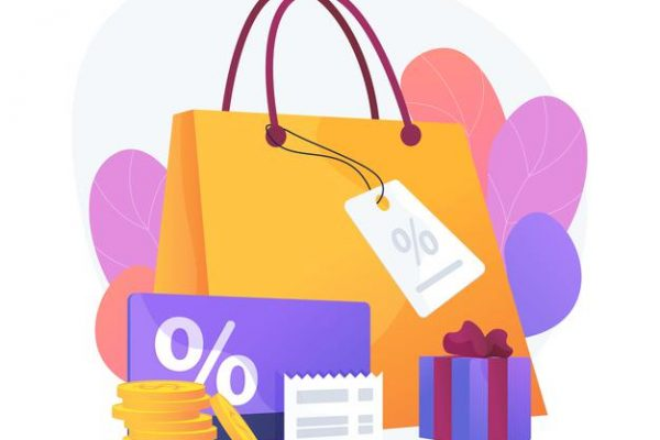 seasonal-sale-discounts-presents-purchase-visiting-boutiques-luxury-shopping-price-reduction-promotional-coupons-special-holiday-offers-vector-isolated-concept-metaphor-illustration_335657-2766